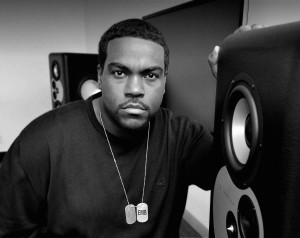 Pictured in his Capitol Records Tower studio with the Barefoot MM12 monitors is producer Rodney Jerkins. Photo by David Goggin.